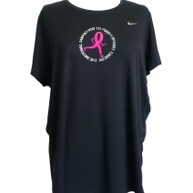 Women's Nike Black EXT Miler Tee