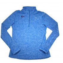 Women's Nike Element Dri-FIT Blue Half-Zip
