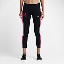 Women's Nike Black Running Crop Pant