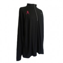 Women's Nike Element Black EXT Half-Zip