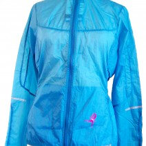 Women's Brooks Wind Jacket (Blue)